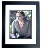 Sophie Turner Signed - Autographed Game of Thrones - Sansa Stark 11x14 inch Photo BLACK CUSTOM FRAME - Guaranteed to pass PSA/DNA or JSA