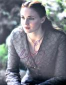 Sophie Turner Signed - Autographed Game of Thrones - Sansa Stark 11x14 inch Photo - Guaranteed to pass PSA/DNA or JSA