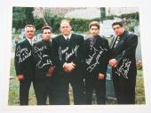 SOPRANOS CEMETERY SIGNED GANDOLFINI SIRICO VAN ZANDT IMPERIOLI 8x10 PHOTO JSA !