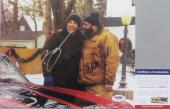 Signed Gandolfini Photograph - SOPRANOS! Ben Affleck SURVIVING CHRISTMAS 8x10 PSA