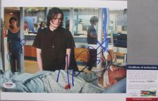 Autographed Gandolfini Photo - SOPRANOS Jamie Lynn Sigler Robert Iler 8x10 #2 PSA