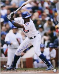 Alfonso Soriano Chicago Cubs Autographed 16'' x 20'' Vertical Photograph - Mounted Memories