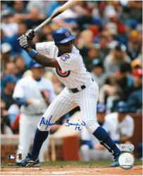 Alfonso Soriano Chicago Cubs Autographed 8'' x 10'' Vertical Photograph - Mounted Memories
