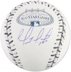 Geovany Soto Chicago Cubs Autographed 2008 Yankee Stadium All-Star Baseball - Mounted Memories