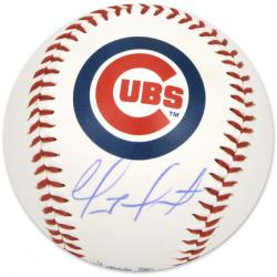 Geovany Soto Autographed Chicago Cubs Logo Baseball