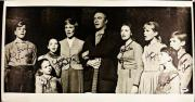 Sound Of Music Cast Signed 12x24 Canvas Photograph #2 w/ PSA/DNA LOA U14836