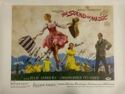 Sound Of Music Cast Signed 16x20 Canvas Photograph #1 w/ PSA/DNA LOA U14841