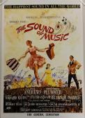 SOUND OF MUSIC Cast Signed 20x30 Photo (7) Movie Poster Autos w/ Beckett BAS COA
