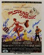 SOUND OF MUSIC Cast Signed 8x10 Photo (7) Autos Image #1 w/ Beckett BAS COA