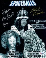 Spaceballs (4) Signed Autographed 8x10 Photo Mel Brooks, Joan Rivers + 2 PSA/DNA