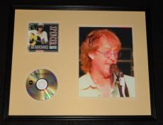 Spencer Davis Signed Framed 16x20 CD & Photo Display