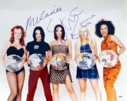 Spice Girls Autographed 16x20 Photo Including Victoria Beckham, Melanie Chisholm & Emma Bunton PSA/DNA #S76867