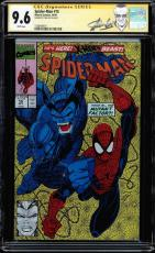 Spider-man #15 Cgc 9.6 White Ss Stan Lee Signed New Stan Lee Label #1508498011