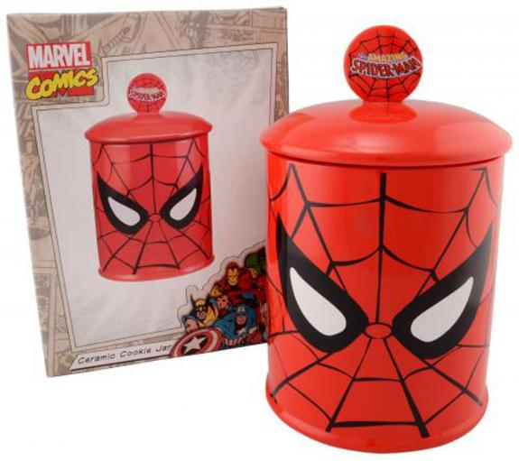 Spider-Man 20 oz. Cookie Jar