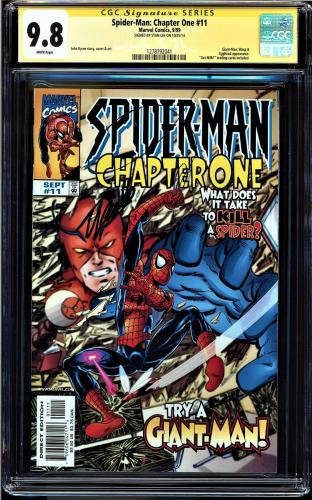 Spider-man Chapter One #11 Cgc 9.8 Ss Stan Lee White 1 Of 1 Cgc #1278792041