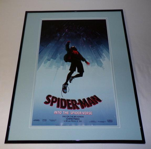 Spider-Man Into the Spider-Verse Framed 16x20 Poster Display