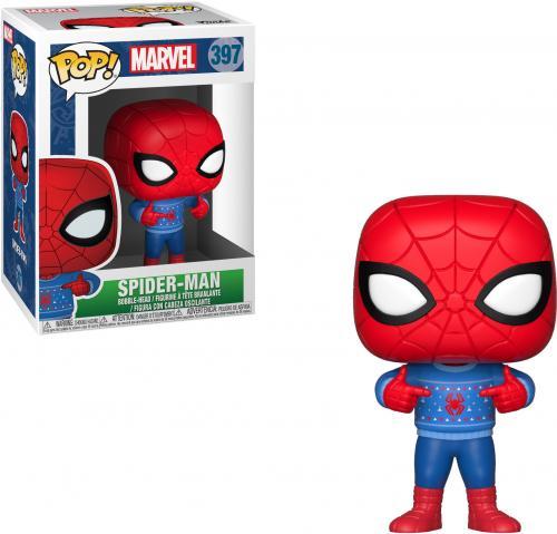 Spider-Man Marvel #397 Holiday Funko Pop!