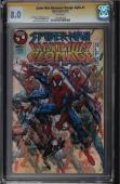 Spider-man Maximum Clonage Alpha #1 Cgc 8.0  White Ss Stan Lee #1323803026