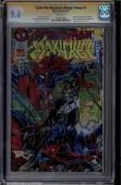 Spider-man Maximum Clonage Omega #1 Cgc 9.6 White Ss Stan Lee #1323803028
