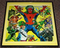 Spider-Man Villains Gallery Original Framed 1978 Marvel Poster Dr Doom Doc Ock