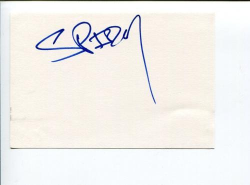 Spider One Powerman 5000 Singer Rob Zombie Brother Rare Signed Autograph