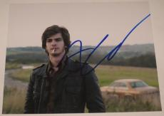 Spiderman Star Andrew Garfield Signed 8x10 Photo Autograph Social Network Coa A