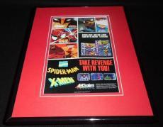 Spiderman X Men 1993 Game Boy Sega 11x14 Framed ORIGINAL Vintage Advertisement