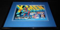 Spiderman X Men 1993 Sega Genesis 11x14 Framed ORIGINAL Vintage Advertisement