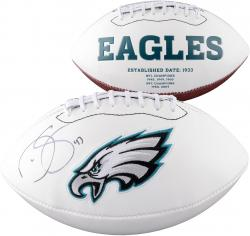 Darren Sproles Philadelphia Eagles Autographed White Panel Football