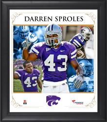 SPROLES, DARREN FRAMED (KANSAS STATE) CORE COMPOSITE - Mounted Memories