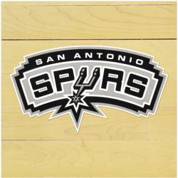 "NBA San Antonio Spurs 12"" x 12"" Logo Floor Piece"