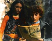 "SPY KIDS"" Signed by ALEXA VEGA as CAMERON CORTEZ and DARYL SABARA as JUNI CORTEZ 10x8 Color Photo"