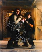 "SPY KIDS"" Signed by ALEXA VEGA as CAMERON CORTEZ and DARYL SABARA as JUNI CORTEZ 8x10 Color Photo"