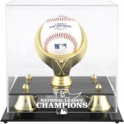 St. Louis Cardinals 2013 National League Champions Golden Classic Baseball Display Case - Mounted Memories