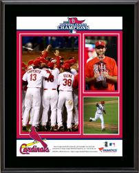 St. Louis Cardinals 2013 National League Champions Sublimated 10.5'' x 13'' Plaque - Mounted Memories