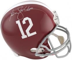 Ken Stabler Alabama Crimson Tide Autographed Riddell Replica Helmet