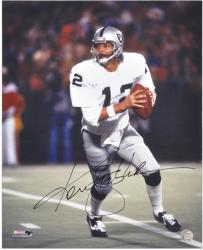 Ken Stabler Signed Photo - 16x20 Mounted Memories