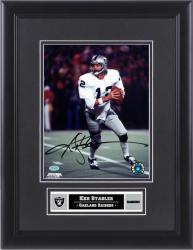 "Ken Stabler Oakland Raiders Framed Autographed 8"" x 10"" Photograph"