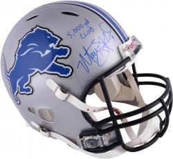 Matt Stafford Detroit Lions Autographed Revolution Speed Authentic Helmet with 5000 Yd Club Inscription