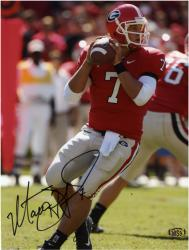 "Matthew Stafford Georgia Bulldogs Autographed 8"" x 10"" Photograph"