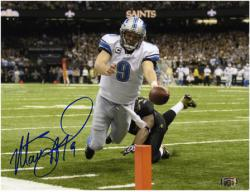 Autographed Stafford Photo - 8x10 Mounted Memories
