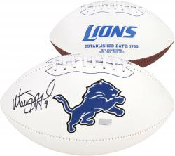 Matthew Stafford Detroit Lions Autographed White Pro Football - Mounted Memories