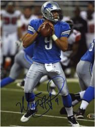 Matthew Stafford Autographed Picture - 8x10 Mounted Memories
