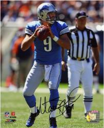 Autographed Matthew Stafford Picture - 8x10 Mounted Memories