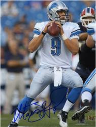 Matthew Stafford Signed Picture - 8x10 Mounted Memories