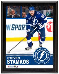 "Steven Stamkos Tampa Bay Lightning Sublimated 10"" x 13"" Plaque - Mounted Memories"