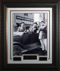 Laurel and Hardy - Laser Engraved Signature Display