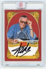 Stan Lee 2013 Panini Golden Age Baseball Historic Signatures Autographed Card