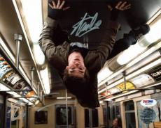 Stan Lee & Andrew Garfield Spider-Man Signed 8X10 Photo PSA #W80521