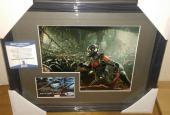 Stan Lee Ant-man Marvel Signed Autograph 13x16 Matted Framed Bas Beckett Coa B